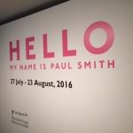 ポール・スミス展の報告
