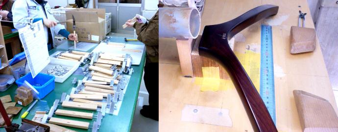 工程3 ハンガーを組み立てる。
